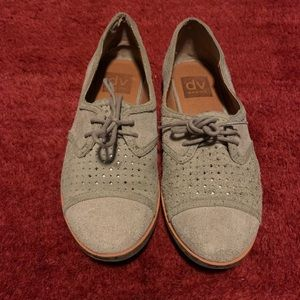 Dolce Vita suede Oxford shoes